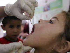 Pевакцинация полиомиелита